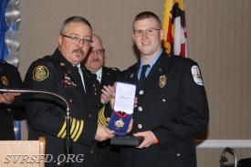 Firefighter of the Year Britt Williams