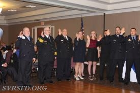 Swearing in of 2017 Officers